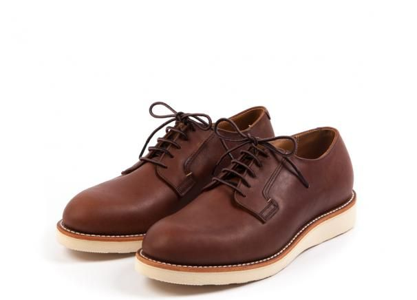 red wing shoes 3101 - postman oxford amber harness