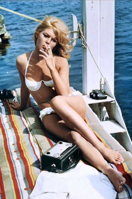 """best swimsuit moments in movie history: Brigitte Bardot in """"A Very Private Affair"""" (1962)"""