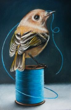<3 By, Eileen Sorg ~ COLORED PENCIL..beautiful. <3