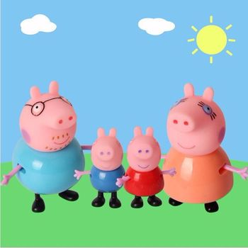 Cute Pig Family Figures, 4 pcs //Price: $11.97 & FREE Shipping // #kid #kids #baby #babies #fun #cutebaby #babycare #momideas #babyrecipes  #toddler #kidscare #childcarelife #happychild #happybaby
