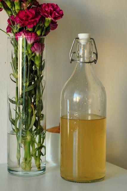 hamimňami: sirup z bazových kvetov / elderflower syrup