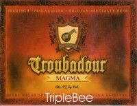 Label van Troubadour Magma