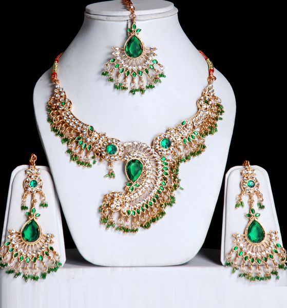 Indian Gems | Indian Fashion Jewelry Set With Stones. : Online Shopping, - Shop for ...