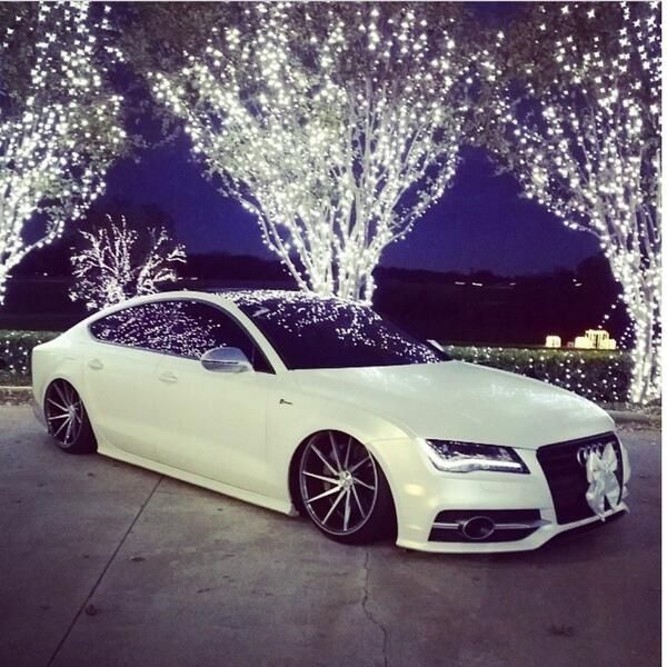Audi A7 <3 look at it... just sitting there, being all sexy and what not.