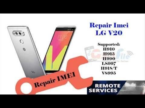 LG V20 US996 Repair imei Done Via Octopus | Remote unlock