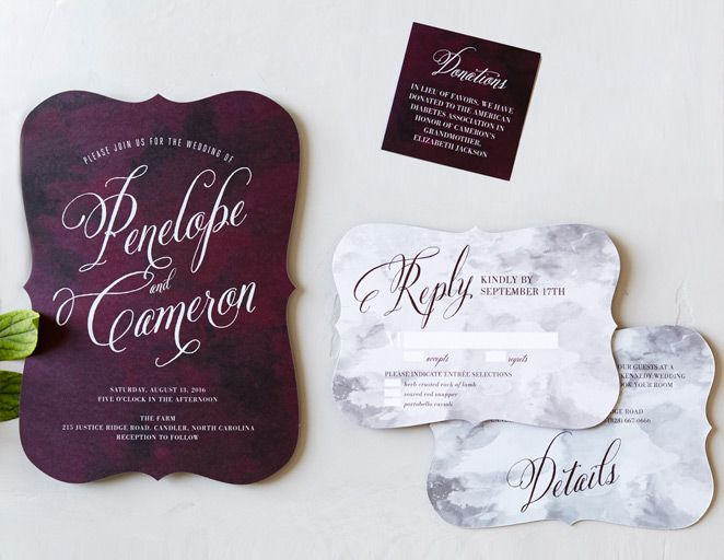 8 Hot Wedding Invitation Trends