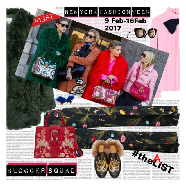NYFW  Blogger Squad by stylepersonal on Polyvore featuring polyvore, fashion, style, Prada, MANGO, Fendi, Gucci, clothing and NYFW