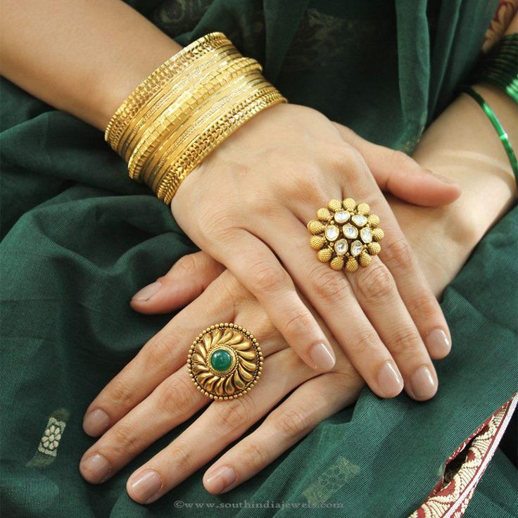 22k gold latest model designer statement rings from Manubhai Jewellers. For inquiries please contact the seller below. Seller Name : Manubhai Jewellers Cont