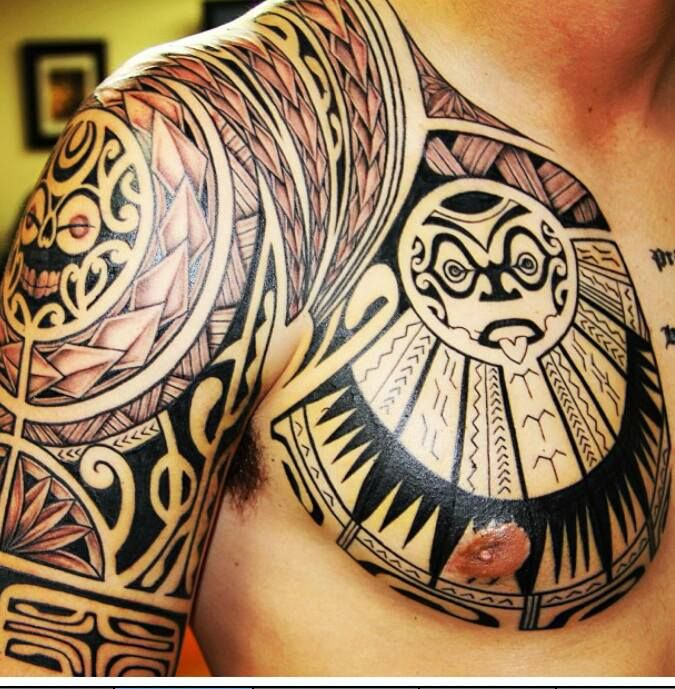 TATTOO MAORIE #polynesian #tattoo