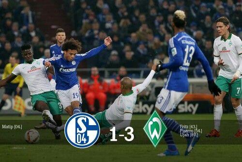Schalke 04 cae en casa en la J18 contra un equipo q se encuentra en la tabla baja de la liga