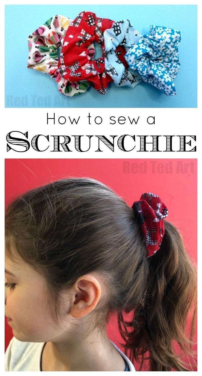 Wie man ein Scrunchie macht