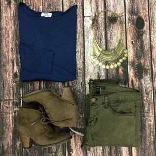 A navy Piko and army green Flying Monkeys are the perfect combo!