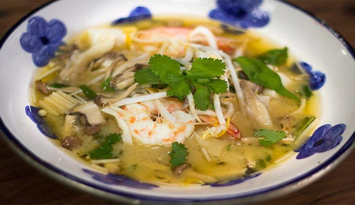 Prawn and Miso Soup - Good Chef Bad Chef