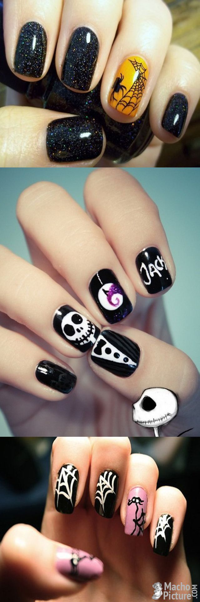 25+ Best Ideas About Halloween Acrylic Nails On Pinterest