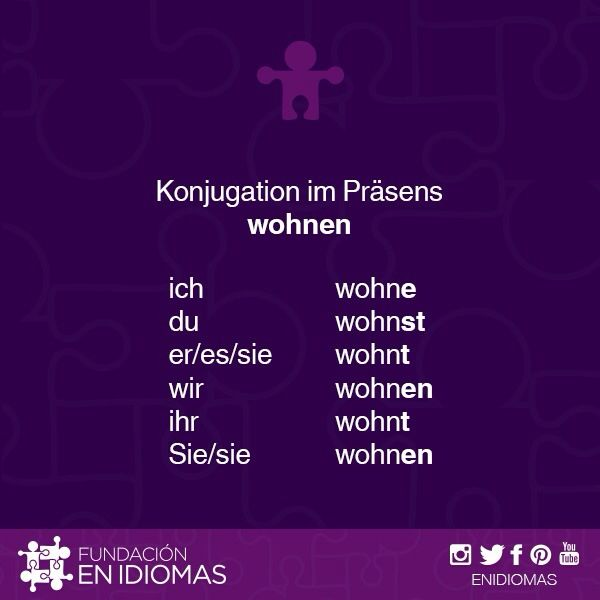 24 best Present Tense images on Pinterest | German language, Learn ...