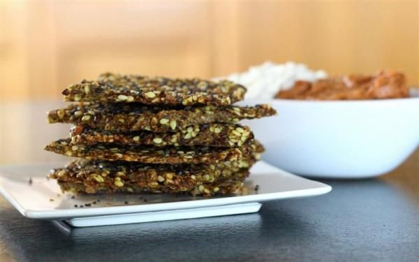 Super seed crackers - scroll to end of article for the recipe