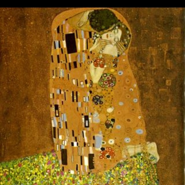 The Kiss ... one of my fav love Klimt's paintings