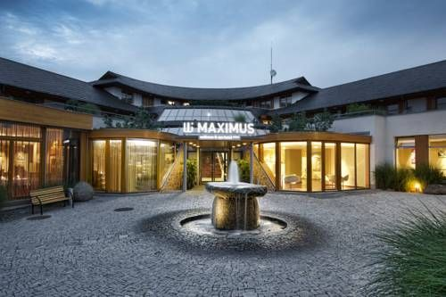 Maximus Resort (Hrázní 4a) Opened in June 2012, Maximus Resort features the Infinit Maximus Wellness and Spa Centre with an aquatic and sauna world including massages, a swimming pool, a hot tub, a steam bath, Kneipp bath and an outdoor cooling pool, all available at a... #bestworldhotels #hotel #hotels #travel #cz #brno