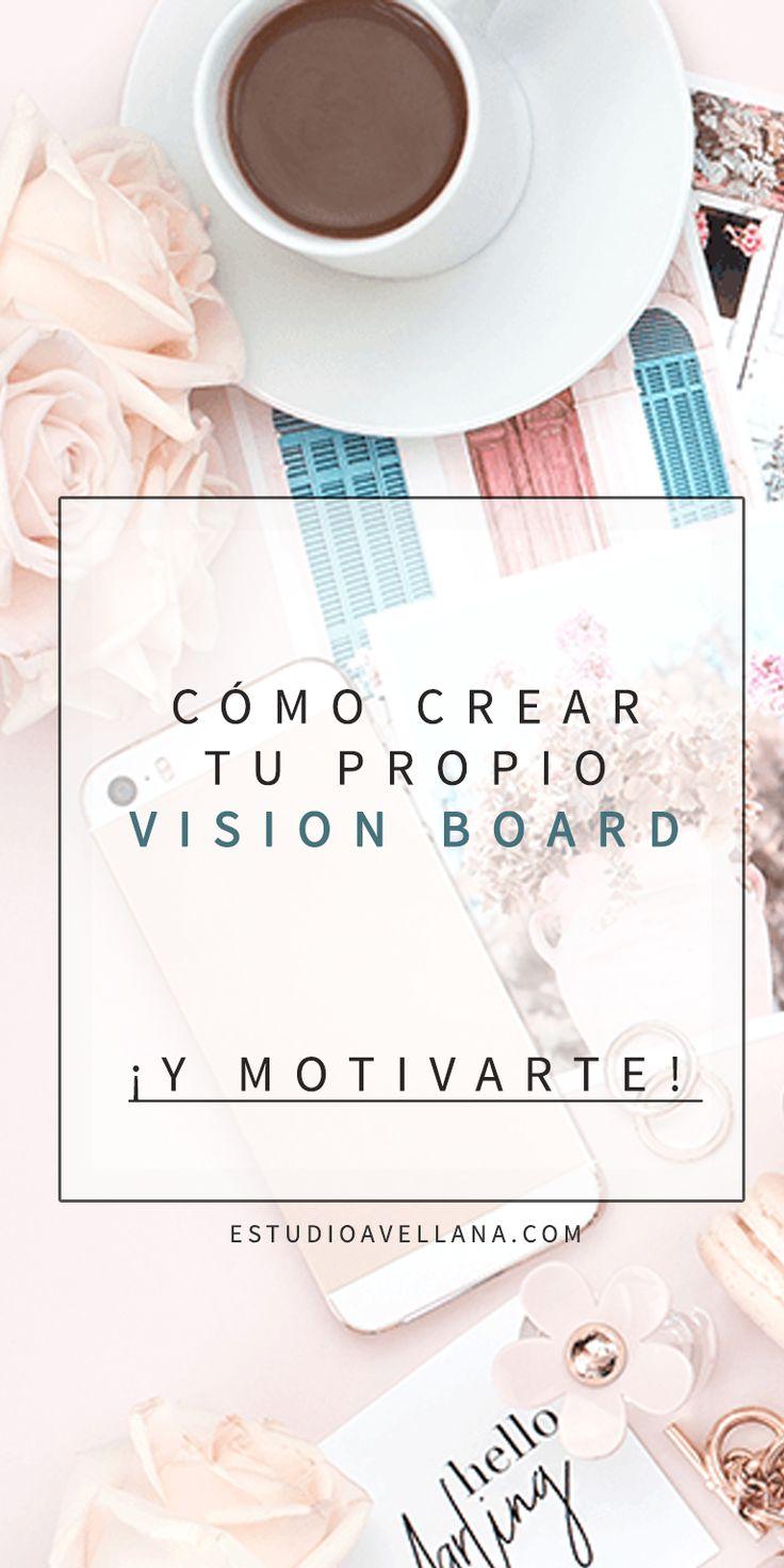 Ideas para crear un vision board - Inspiración