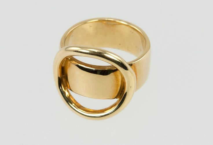 Cartier Dinh Van Gold Abstract Ring | From a unique collection of vintage fashion rings at https://www.1stdibs.com/jewelry/rings/fashion-rings/