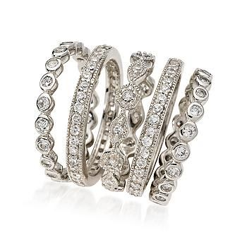 band pinterest rings ring eternity images diamond jewerly bands stack henri stacked on engagements and daussi engagement wedding best