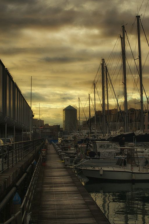 Porto Antico, Genova Italy