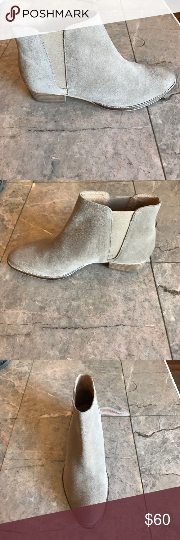 Seychelles Wake chelsea boot Sand suede Chelsea boot with elastic at ankle. Fit is slightly large. 1.5 inch heel. New in box. Seychelles Shoes Ankle Boots & Booties
