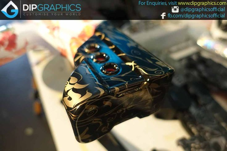 Hydro-Dipped-Zeus-2-Nerf-Blaster-in-Floral-Pattern---4