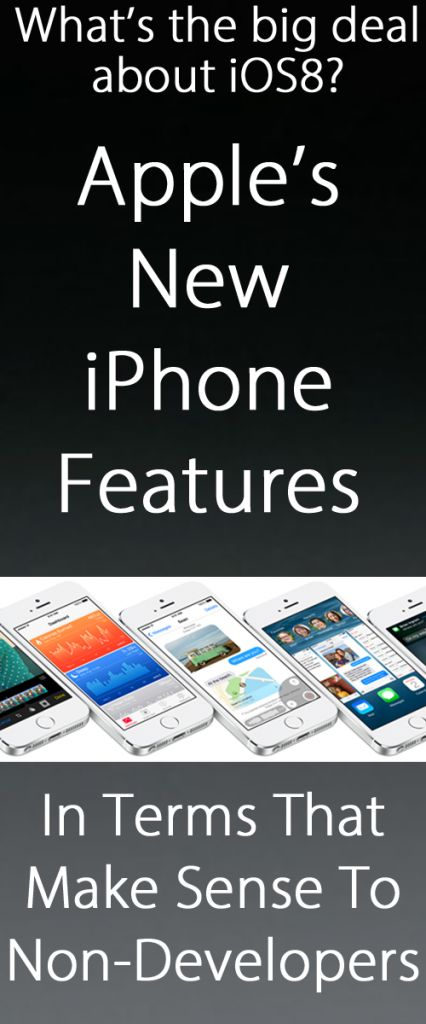 Apple iOS 8 Features In Terms That Make Sense #iOS8 - My Crazy Good Life
