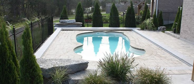 21 best images about fiberglass inground pools nj on - Inground swimming pools new jersey ...