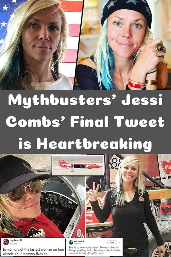 Mythbusters' Jessi Combs' Final Tweet is Heartbreaking