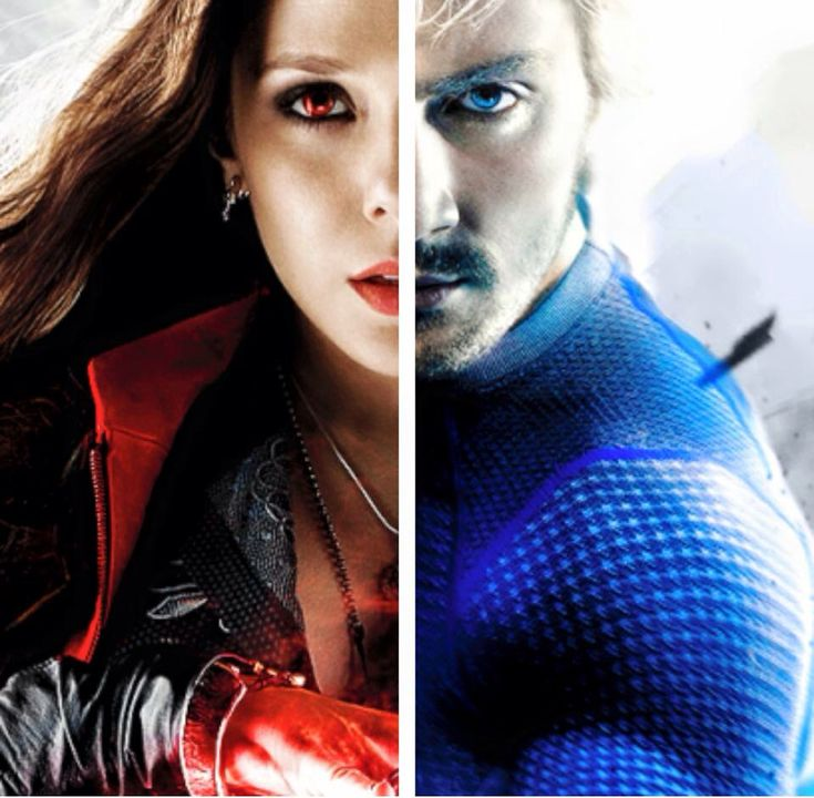 Wanda & Pietro Maximoff - Scarlet Witch and Quicksilver of Avengers - Age of Ultron.