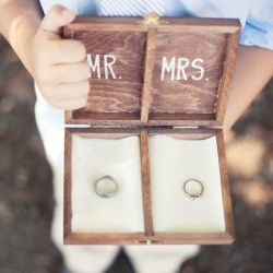 ring bearer box instead of pillow