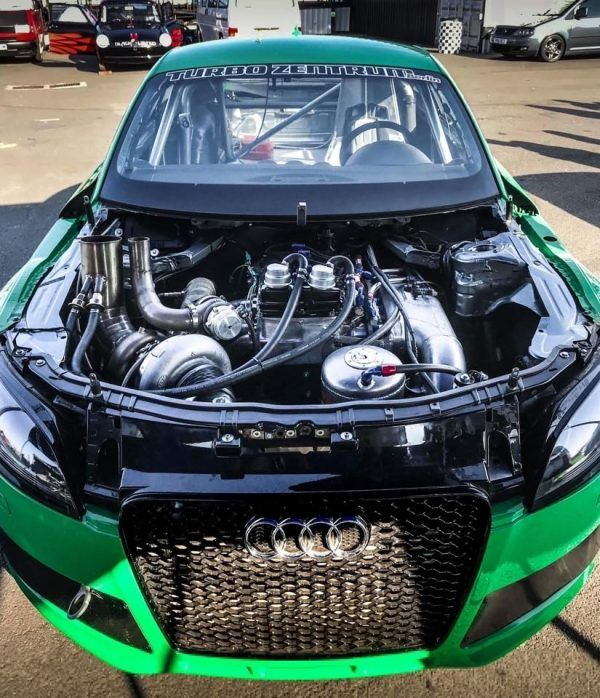 Audi TT with a 1356 hp VR6 and Nissan GTR 4WD | Engine Swaps
