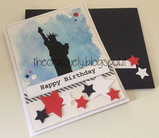 THECRAZYELY: Happy Birthday USA card