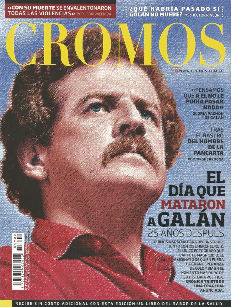 Una mirada más joven / A more youthful look --- Portada CROMOS - N° 4900. Agosto 8 de 2014 / Cover of CROMOS - N° 4900. August 8th, 2014