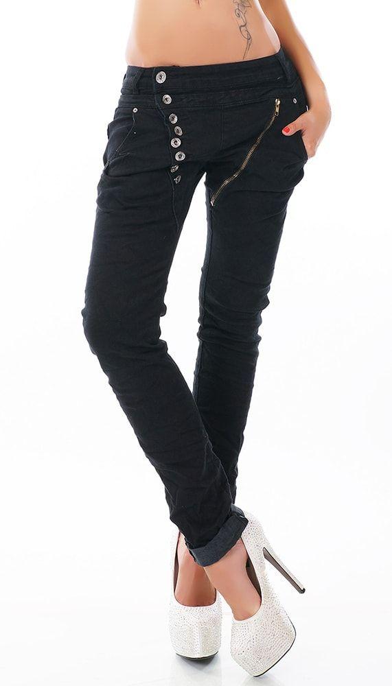 Dámské džíny černé