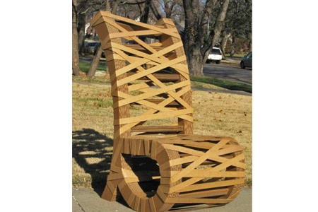 1000 images about cardboard paper mache furniture on for Paper mache furniture ideas