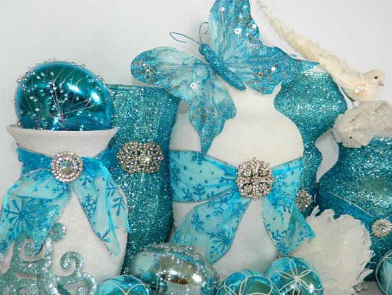 Ideas about teal wedding centerpieces on pinterest