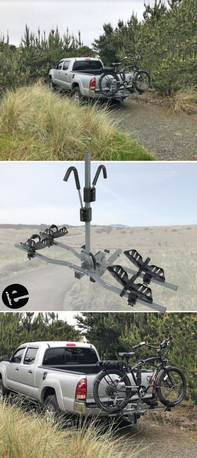 Swagman E Spec 2 Electric Bike Platform Rack 2 Hitches Swagman
