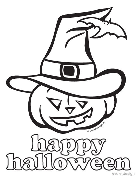108 best Halloween Coloring Pages images on Pinterest | Drawings ...