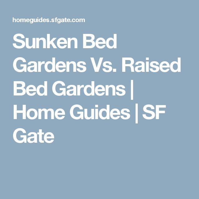 how to build a sunken bed