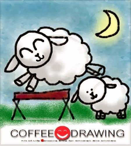 HOW TO DRAW STEP by STEP FOR KIDS PART 45 [ แกะ , Sheep] | COFFEE-DRAWING