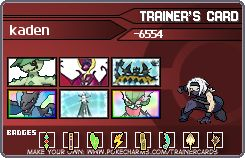 Trainer Card Maker | Pokécharms