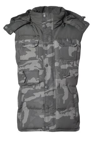 Mens Camouflage Gilet £33.00 http://www.bravesoul.co.uk/shop/clothing/mens-camouflage-gilet?colour=KHAKI #camo #gilet #mensfashion