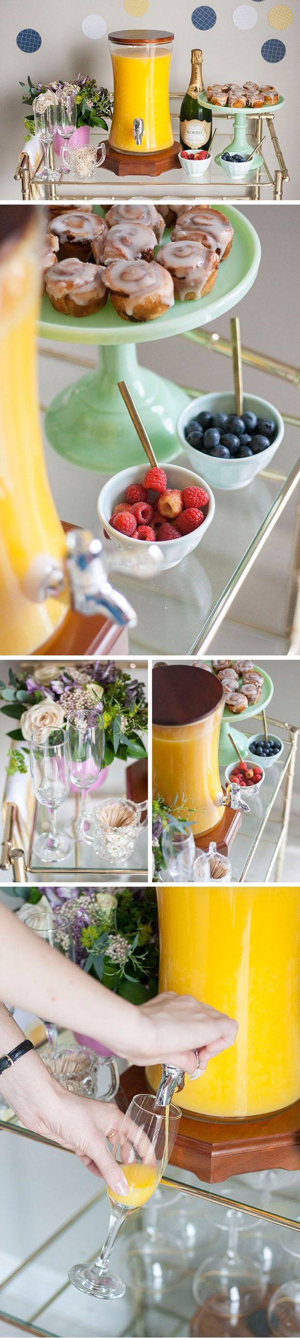 Build Your Own Mimosa Bar for the Ultimate Boozy Brunch