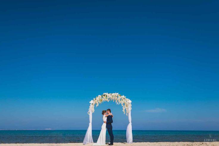 Бассейн свадьбы, Пафос, Кипр - свадебный пакет от особых моментов Свадьбы и события - iBride.com