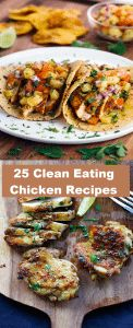 Oh chicken how I love thee...And l'm sure you will love the 25 clean eating chicken recipes l have below. My love affair with chicken started when I was 7 years old, mostly with un-healthy versions of chicken sandwiches and chicken