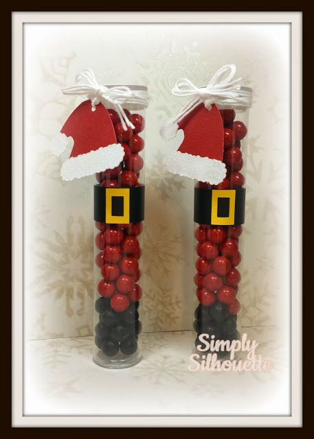 Cute Christmas treats by Julie using some Totally White Trendy Twine