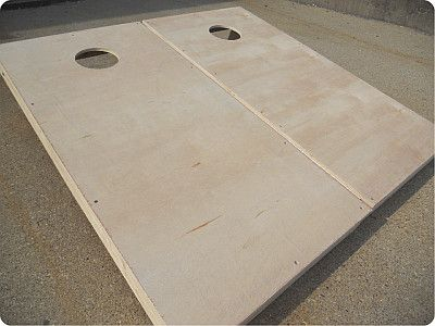 Plain Cornhole Set with Bags  $79...just would need to paint them.